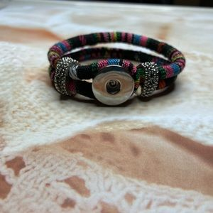 Bracelet For Snap Button Charms
